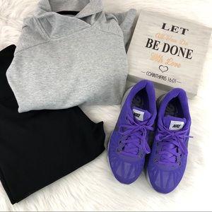 GUC NIKE H2O Purple Gray Lunarglide Sneakers